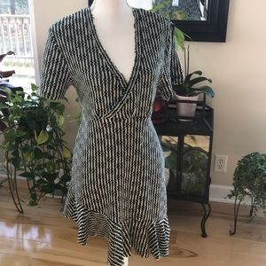 Zara distress loose knit dress.  NWT